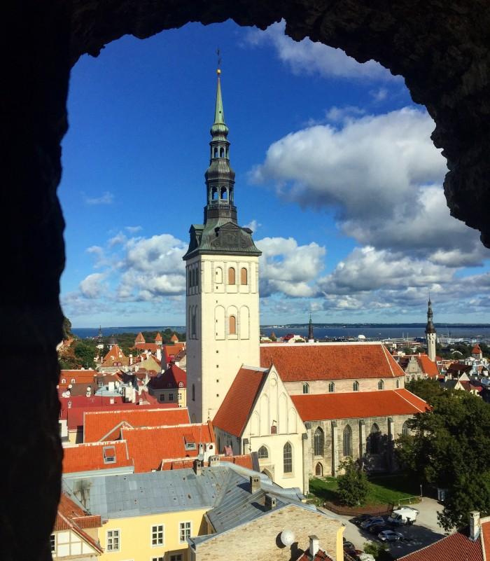 tallinn old town 700x801 - Exploring the views of the Old Town Tallinn, Estonia