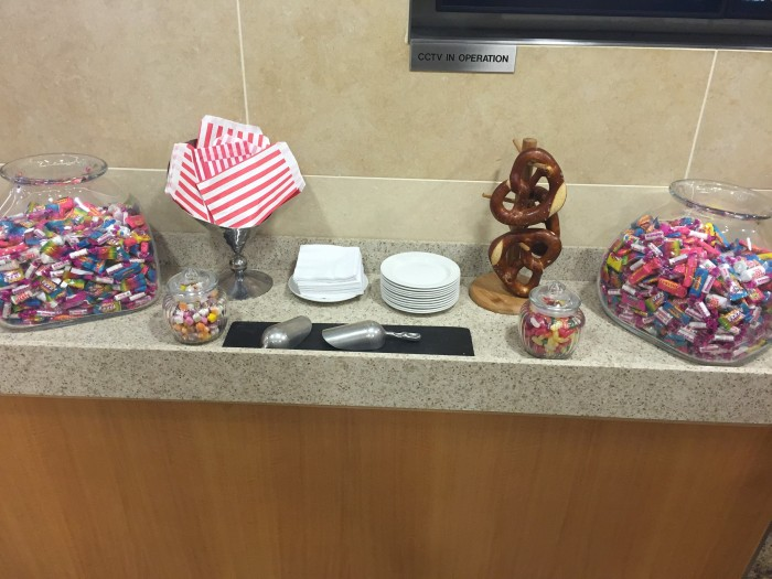 american flagship lounge lhr snacks 700x525 - American Airlines Flagship Lounge London Heathrow LHR review