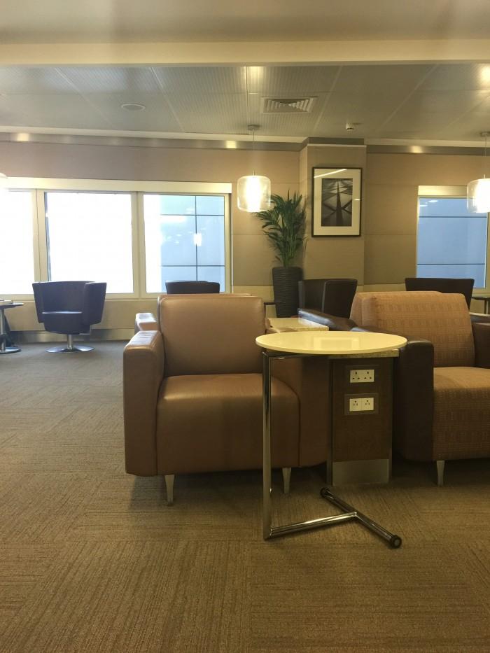 american lounge london heathrow seats 700x933 - American Airlines Flagship Lounge London Heathrow LHR review