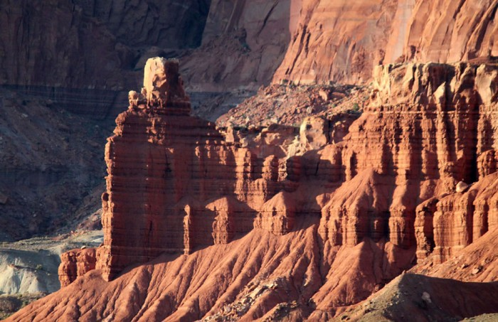 chimney rock 700x453 - Outdoor adventures in Capitol Reef Country