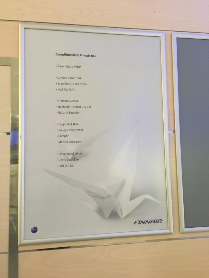 finnair lounge helsinki bar 700x933 - Finnair Lounge Helsinki HEL non-Schengen review