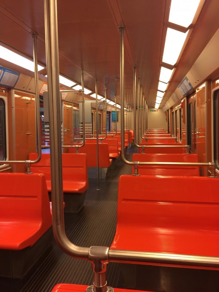 helsinki subway 700x933 - Finnair Lounge Helsinki HEL non-Schengen review