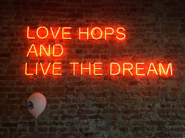 love hops and live the dream 700x525 - The best craft beer in Helsinki, Finland