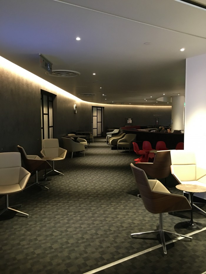 oneworld business class lounge lax airport 700x933 - OneWorld Business Lounge Los Angeles LAX review