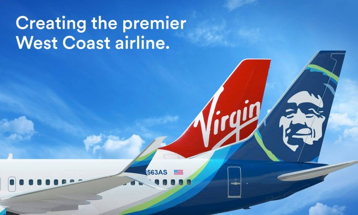 alaska airlines virgin america merger 700x420 - My thoughts on the Alaska Airlines acquisition of Virgin America