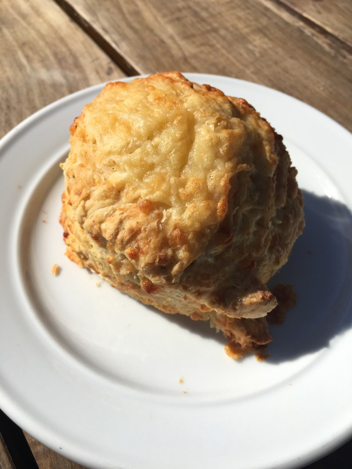 cheese-scone