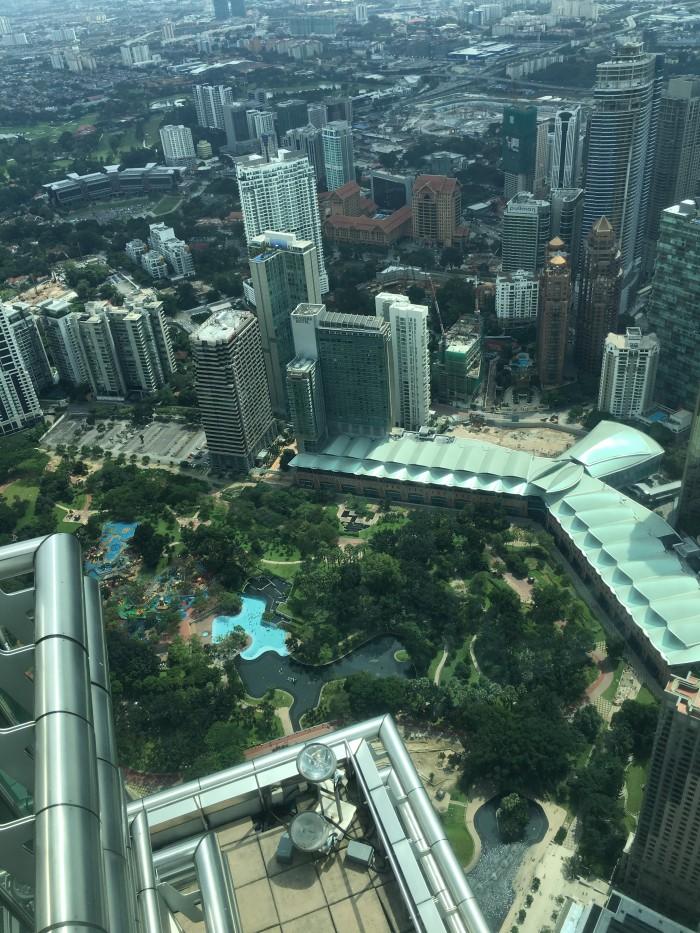 kl city centre park 700x933 - A layover in Kuala Lumpur - Street markets & Petronas Towers