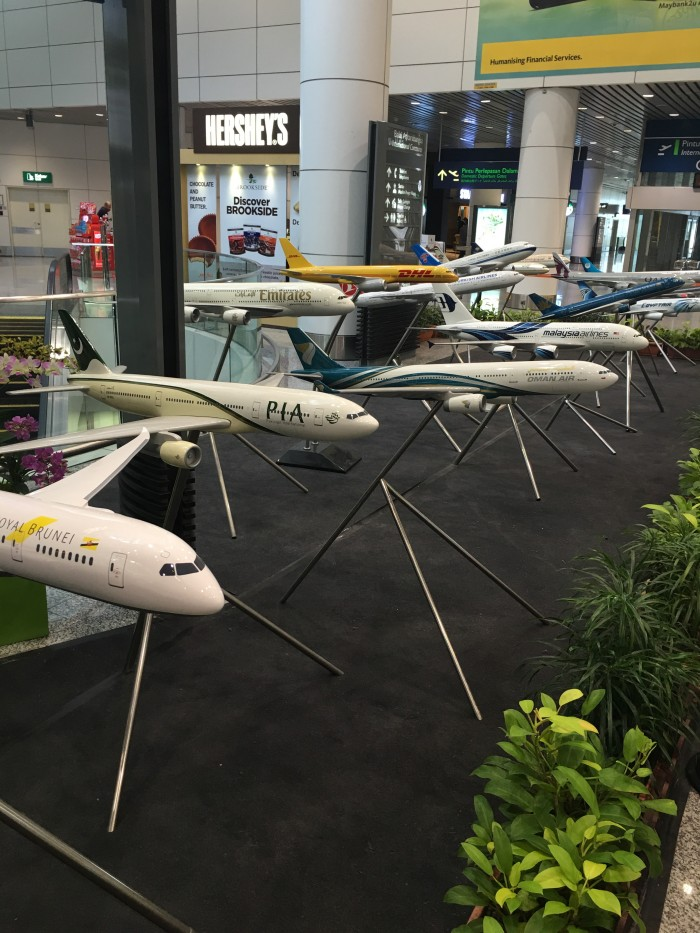 kuala lumpur airplane models 700x933 - Malaysia Airlines Business Class Airbus A330-300 Kuala Lumpur KUL to Auckland AKL review