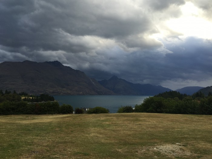 lake wakatipu cloudy 700x525 - Queenstown Motel Apartments - Queenstown, New Zealand review