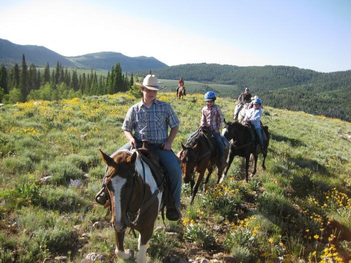 logan utah horseback riding 700x525 - Logan, Utah: Sights to delight all your senses