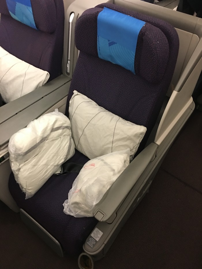 malaysia airlines business class airbus a330 300 seat 700x933 - Malaysia Airlines Business Class Airbus A330-300 Kuala Lumpur KUL to Auckland AKL review