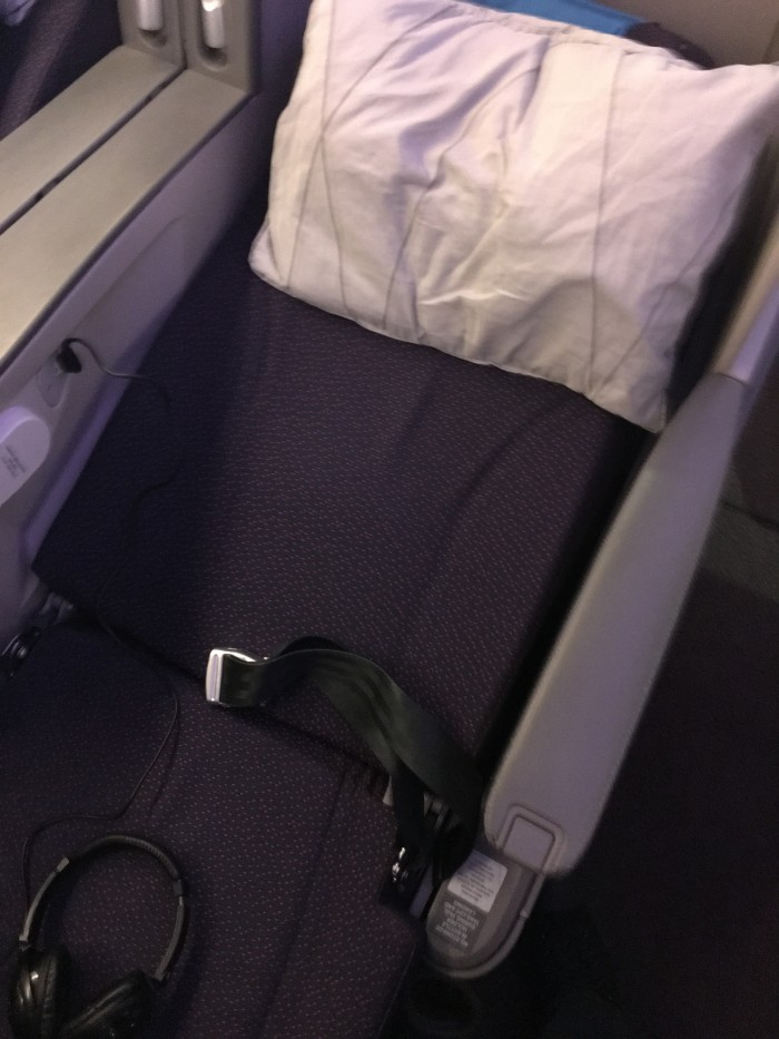 malaysia airlines business class airbus a330 angled seat 700x933 - Malaysia Airlines Business Class Airbus A330-300 Kuala Lumpur KUL to Auckland AKL review