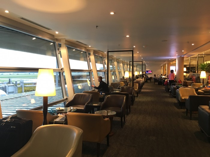 malaysia airlines golden lounge kuala lumpur satellite business 700x525 - Malaysia Airlines Golden Lounge Kuala Lumpur KUL satellite review