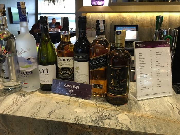 plaza premium lounge kuala lumpur satellite drinks 700x525 - Plaza Premium Lounge Kuala Lumpur KUL review