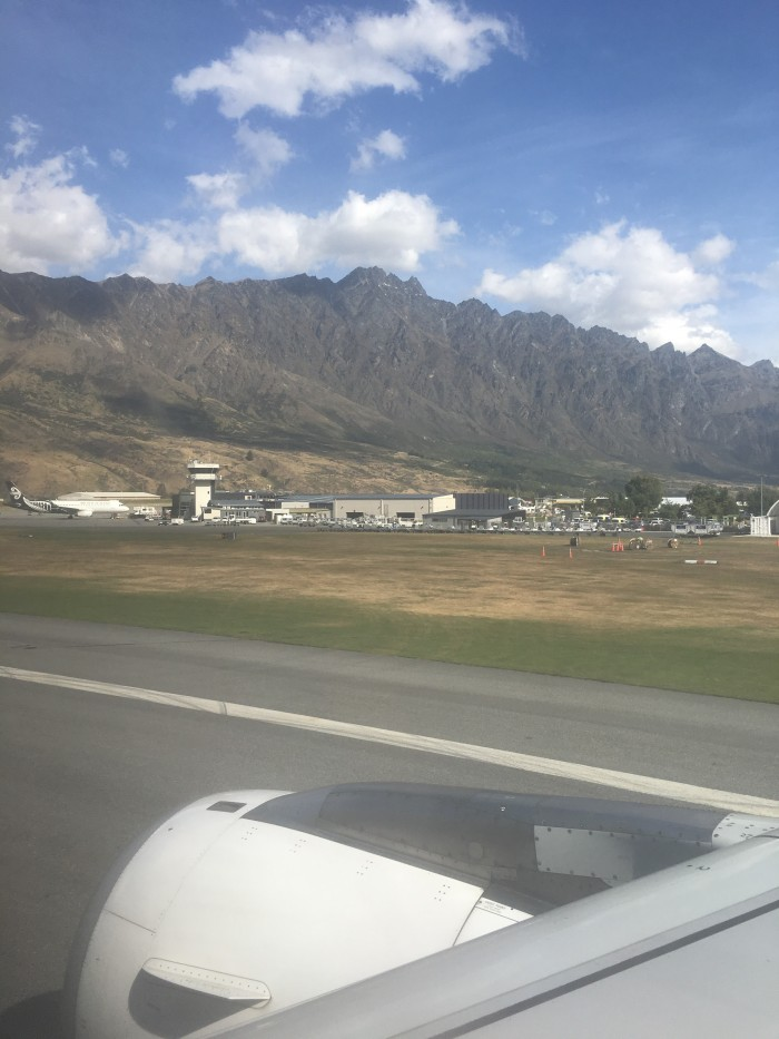 queenstown airport 700x933 - Air New Zealand Economy Class Airbus A320 Auckland AKL to Queenstown ZQN review
