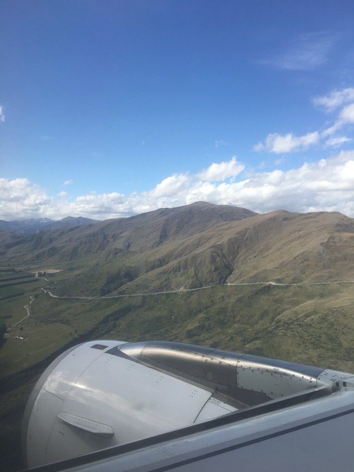 queenstown approach 700x933 - Air New Zealand Economy Class Airbus A320 Auckland AKL to Queenstown ZQN review