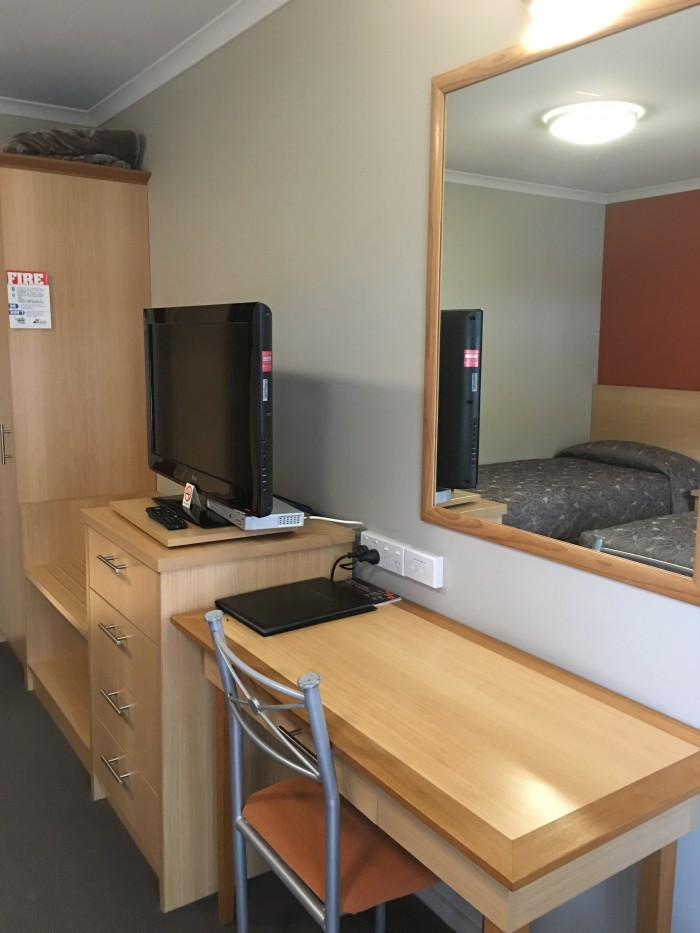 queenstown motel apartments desk 700x933 - Queenstown Motel Apartments - Queenstown, New Zealand review