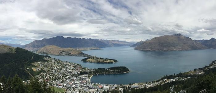 queenstown panorama 700x302 - A visit to Skyline Queenstown in Queenstown, New Zealand