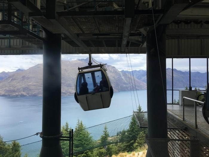 skyline queenstown gondola 700x525 - A visit to Skyline Queenstown in Queenstown, New Zealand