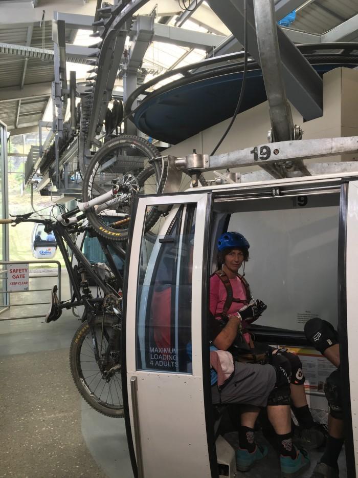 skyline queenstown mountain biking 700x933 - A visit to Skyline Queenstown in Queenstown, New Zealand