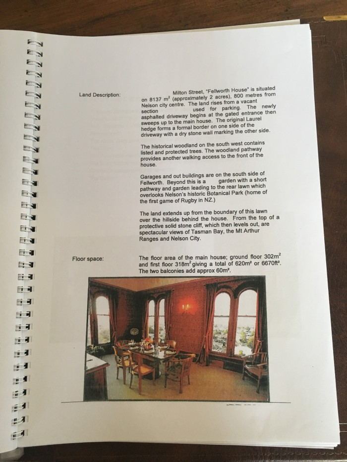 fellworth house book 700x933 - Fellworth House - Nelson, New Zealand review