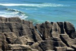 pancake rocks 150x100 - Franz Josef to Nelson, New Zealand by bus