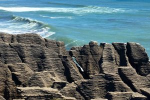 pancake rocks 300x200 - Franz Josef to Nelson, New Zealand by bus