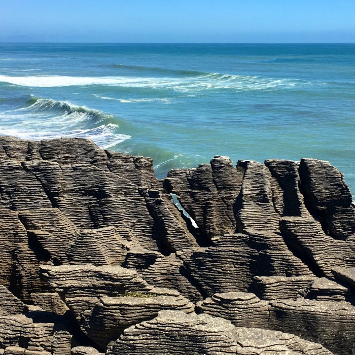 pancake rocks 700x700 - Franz Josef to Nelson, New Zealand by bus