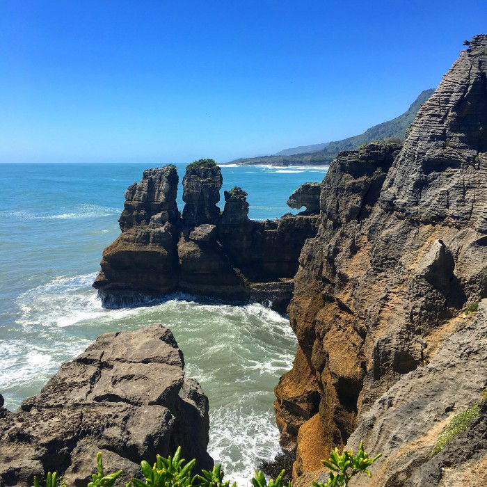 pancake rocks new zealand 700x700 - Franz Josef to Nelson, New Zealand by bus