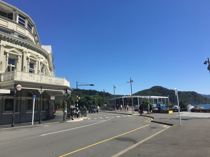 picton city center 700x525 - Nelson to Wellington, New Zealand by bus and ferry via Picton