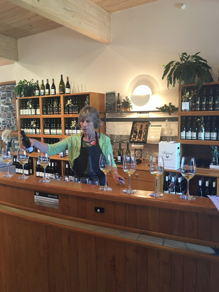 seifried estate wine tasting 700x933 - A beer & wine tour through Nelson, New Zealand