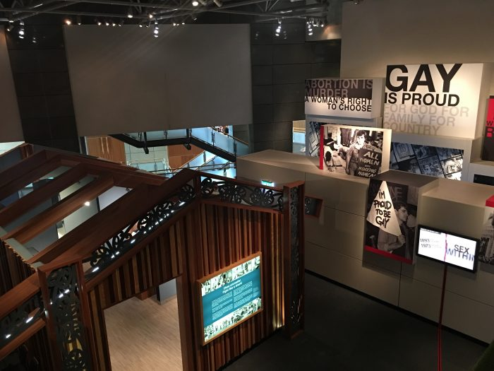 te papa tongarewa social history 700x525 - Exploring the museums & parks of Wellington, New Zealand