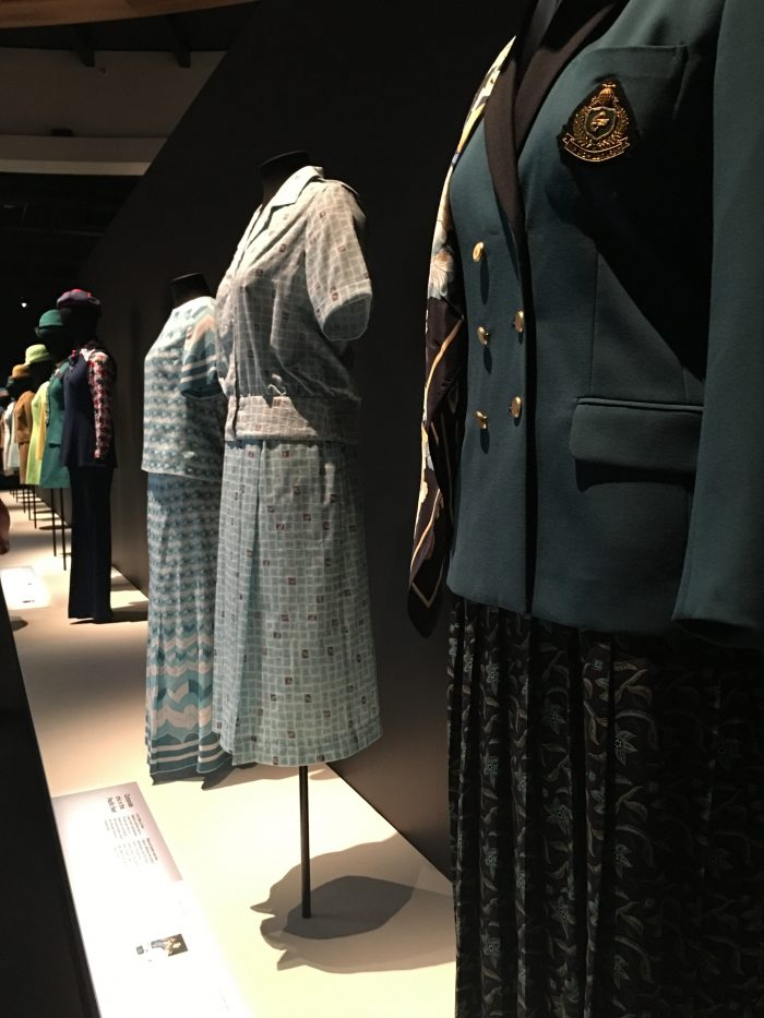 air new zealand flight attendant uniforms 700x933 - A rainy New Year's Day at the Auckland War Memorial Museum