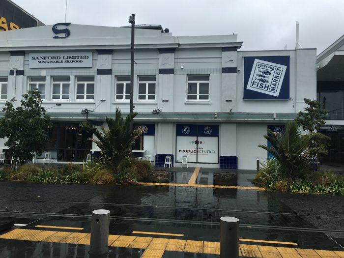 auckland fish market 700x525 - Rainy day activities in Auckland - Art Gallery & New Zealand Maritime Museum
