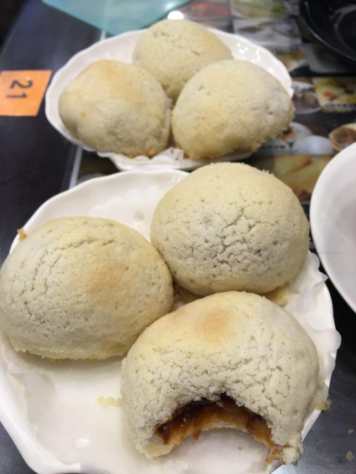 dim sum square crispy bbq pork buns 700x933 - More dim sum in Hong Kong - Din Tai Fung & Dim Sum Square