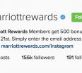 free-marriott-points-instagram