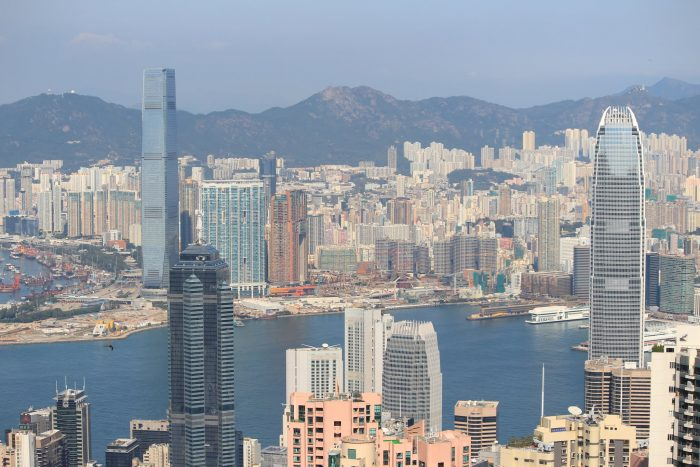 hong kong harbor skyline 700x467 - A visit to Victoria Peak & more great food in Hong Kong