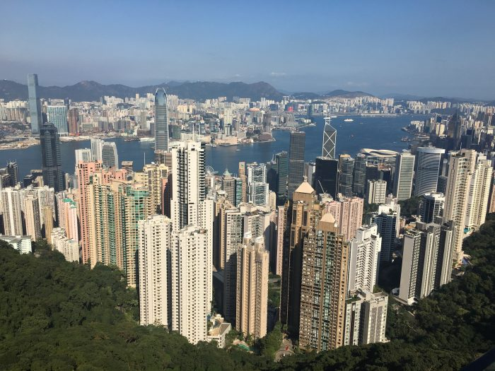 hong kong skyline 700x525 - A visit to Victoria Peak & more great food in Hong Kong