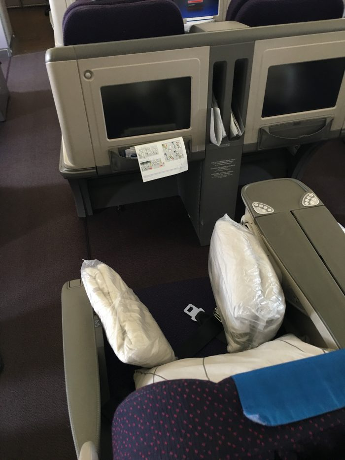malaysia airlines business class seat airbus a330 300 old 700x933 - Malaysia Airlines Business Class Airbus A330-300 Auckland AKL to Kuala Lumpur KUL review