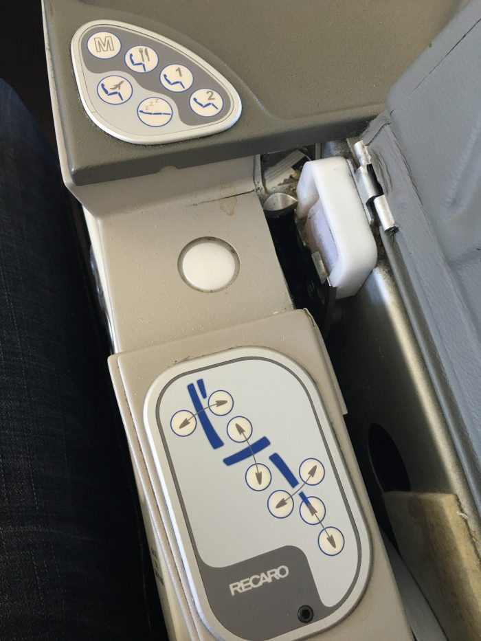 malaysia airlines business class seat controls 700x933 - Malaysia Airlines Business Class Airbus A330-300 Auckland AKL to Kuala Lumpur KUL review