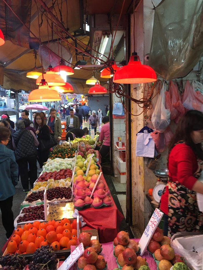 mong kok produce market 700x933 - A dim sum visit to Tim Ho Wan in Hong Kong