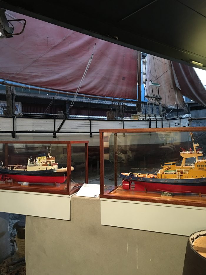 new zealand maritime museum models 700x933 - A rainy day at the Auckland Art Gallery & New Zealand Maritime Museum