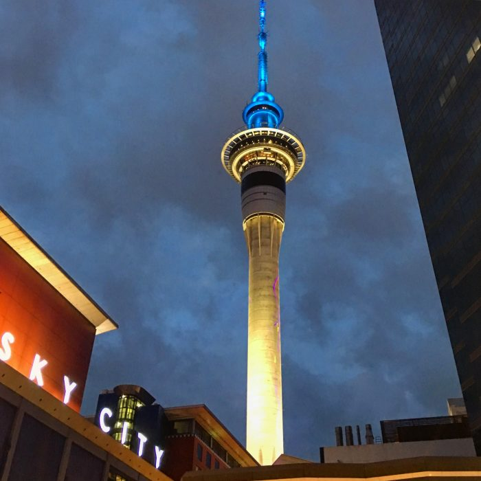 sky tower auckland 700x700 - New Year's Eve in Auckland, New Zealand