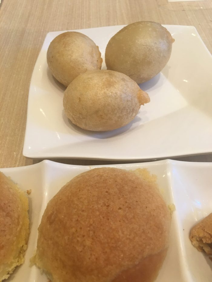 tim ho wan deep fried dumplings baked pork bun 700x933 - A dim sum visit to Tim Ho Wan in Hong Kong