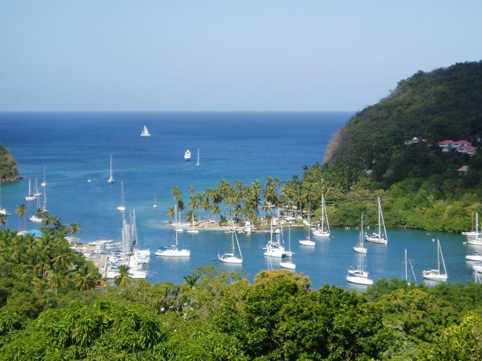 how to get from st lucia to jamaica