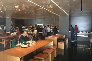 cathay pacific the bridge dining room 300x200 - Cathay Pacific The Bridge Business Class Lounge Hong Kong review
