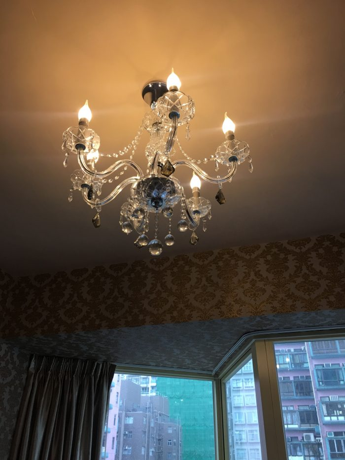 grand city hotel chandelier 700x933 - Grand City Hotel Hong Kong review