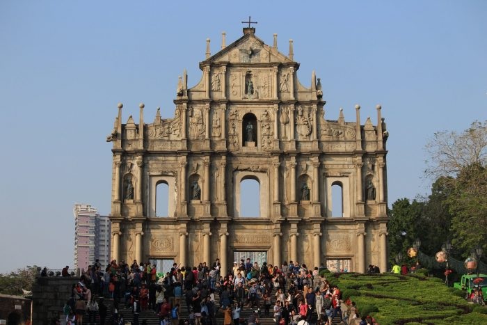 ruins of st pauls 700x467 - A day trip to Macau from Hong Kong