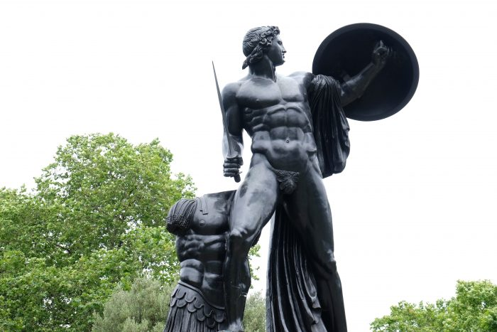 achilles statue hyde park 700x467 - A nice walk through Central London from Kensington Gardens to Borough Market