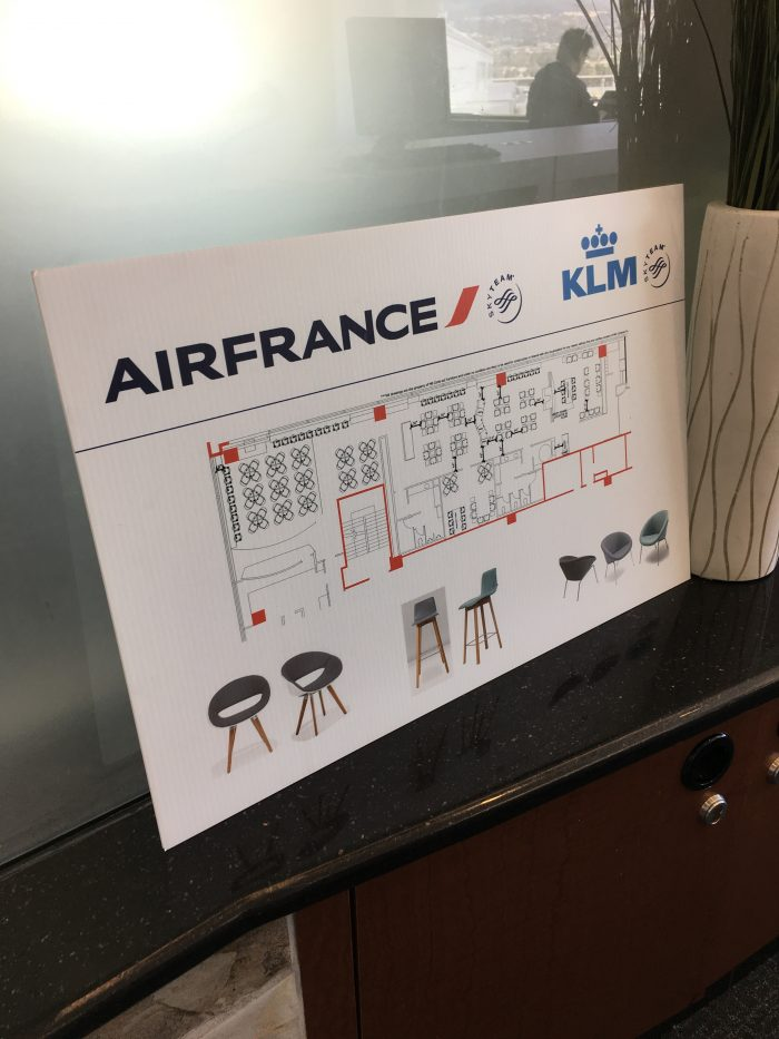 air france klm lounge sfo refurbishment plan 700x933 - Air France-KLM Lounge San Francisco SFO review